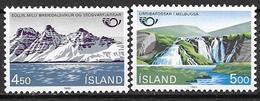 Islande 1983 N° 549/550 Neufs Norden Tourisme - Ungebraucht
