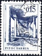JUGOSLAVIA, YUGOSLAVIA, INGEGNERIA, ARCHITETTURA, 1966, 0,15 D., FRANCOBOLLO USATO Mi:YU 1166, Scott:YU 832, Yt:YU 1071 - Gebraucht