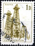 JUGOSLAVIA, YUGOSLAVIA, INGEGNERIA, ARCHITETTURA, 1966, 1,00 D., FRANCOBOLLO USATO Mi:YU 1172, Scott:YU 840, Yt:YU 1079 - Gebraucht