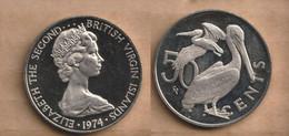 VIRGENES ISLAS   50 Cents 1973 Copper-nickel • 14.25 G • ⌀ 32 Mm KM# 5 - British Virgin Islands
