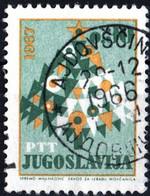 JUGOSLAVIA, YUGOSLAVIA, ANNO NUOVO, 1966, 0,30 D., FRANCOBOLLO USATO Mi:YU 1190, Scott:YU 844, Yt:YU 1090 - Gebraucht