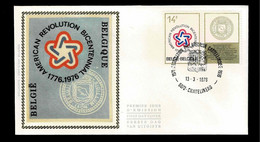 FDC Zijde : Nr 1797 Stempel: 6070 Chatelineau - 1971-80