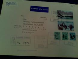Leter Kanada,, Sent To Slovakia Airmail  Preis 4 Eur - Cartas