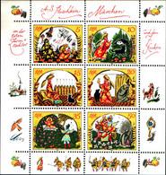 """39737) GERMANIA - DDR - 1984 - Fiabe Dei Fratelli Grimm (14) - """"Marchen Von Der Toten""""-MNH** - Unused Stamps"""