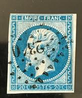 YT 14B TB Planché Panneau A1 Position 4 état 1 - 1853-1860 Napoleon III