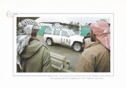 BAGHDAD - Les Inspecteurs En Désarmement Des Nations Unies Quittent... - Cart'actu 2002 N° 110 - Photo Karim Sahib - Iraq