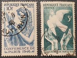 N° 761/662  Avec Oblitération Cachet à Date D'Epoque TB - Used Stamps