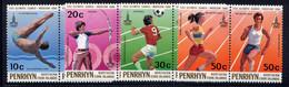 PENRHYN, SET, NO.'S 119-122, MNH - Penrhyn