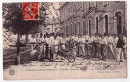 8761 - Dijon ( 21 ) - 8e Section D'administration ( Caserne Dufour ) , L'épluchage Des Patates - N°6 , éd.Soulié - - Dijon