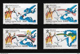 Vatikaan 1992 Luchtpost Nr 92/95 **, Zeer Mooi Lot Krt 4059 - Collezioni (senza Album)