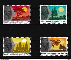 Vatikaan 1990 Luchtpost Nr 88/91 **, Zeer Mooi Lot Krt 4056 - Collezioni (senza Album)