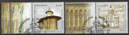 2008 Rumänien Mi. 6311-12 Used   UNESCO-Welterbe. - Usado