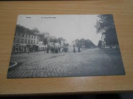 MONS   Place Warocqué   Fortement Animée Circulée Vers 1910 - Mons