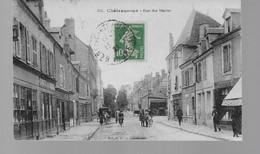 36  CHATEAUROUX  RUE DES   MARINS  ANIMEE   VOIR  LES  2  SCANS  14  X  8.5 - Chateauroux