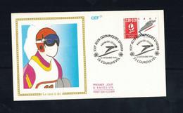 FDC-1167**FRANCE 1990 *LA SAUT A SKI FDC W CEF CACHET - 1990-1999