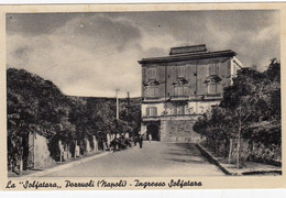 POZZUOLI-NAPOLI-INGRESSO SOLFATARA- CARTOLINA NON VIAGGIATA -ANNO 1938 - Pozzuoli