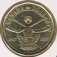 Canada 1 Dollar 2017, 100th Ann. Toronto Maple Leafs, Hockey, KM#New, Unc - Canada