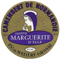 ETIQU.CAMEMB 50 Z Sainte MARGUERITE D'ELLE Manche - Cheese