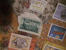 USA AIR MAIL VERDONE 1 VALORE - America (Other)