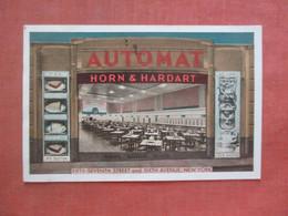 Automat Horn & Hardart     57 Th Street NY City       Ref 4846 - Pubblicitari