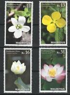 Mauritius 2015, Flowers, MNH Stamps Set - Mauritius (1968-...)