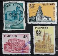 FILIPINAS 1975 Holy Year - Churches. USADO - USED. - Philippines
