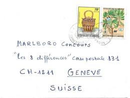 281 - 47 - Enveloppe Envoyée Du Cameroun En Suisse 1982 - Cameroon (1960-...)