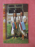 Two Beautiful Indian Maidens    Ref 4847 - Native Americans