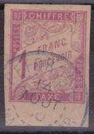 Taxe 1F Beforona Madagascar - Postage Due