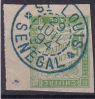 Taxe 15c Saint Louis Sénégal - Postage Due