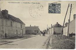 FRANCE - VILLEMANOCHE - Grande-Rue Et Route De Sens - - Otros Municipios