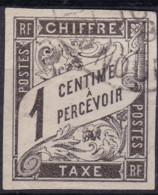 Taxe 1c Noumea Nouvelle Caledonie - Postage Due