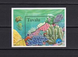 Tuvalu, Michel-Nr. Block 65 Postfrisch ** Mnh Korallen / Corals, 1998 - Tuvalu (fr. Elliceinseln)