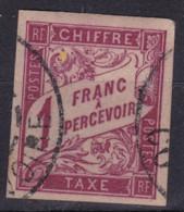 Taxe 1F Cote D'ivoire - Postage Due