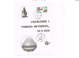 "Portes Ouvertes.""Charleroi 1"" - Brieven En Documenten"