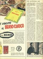 (pagine-pages)PUBBLICITA' OLIO BERIO  Epoca1956/326r. - Other
