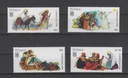 Tuvalu, Christmas 1998, Complete Set Mnh - Weihnachten 1998, Satz Postfrisch ** - Tuvalu (fr. Elliceinseln)