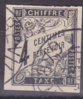 Taxe 4c Gabon Congo Libreville - Postage Due