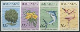 Bahamas 1993 20 Jahre Unabhängigkeit: Nationale Symbole 813/16 Postfrisch - Bahamas (1973-...)