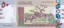 SUDAN 50 POUNDS 2015 P-75 UNC - Sudan