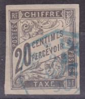 Taxe 20c Correspondance D'armées - Taxes