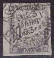 Taxe 10c Gocong Cochinchine - Taxes