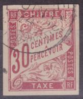 Taxe 30c Congo Français Libreville - Postage Due