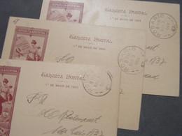 Rosari  3 Alte Karten 1903 - Postal Stationery