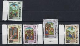 Luxembourg - Luxemburg - Timbres Caritas 1986  Miniatures Issues De Livre D'heure Série  MNH** - Blokken & Velletjes
