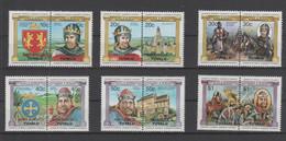 Tuvalu - Nanumaga, Kings And Queens, Set Mnh - Satz Postfrisch ** - Tuvalu (fr. Elliceinseln)