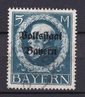 Bayern - 1919 - Michel Nr. 131 A - Geprüft - Gestempelt - Bavaria
