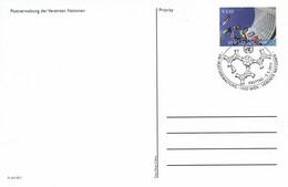 UN Wien - Ganzsache Postkarte Sonderstempel / Postcard Special Cancellation (i564) - Cartas