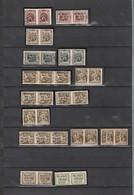 Lotje Typo Stempels - Diverse Kwaliteit - Van 1930 Tot 1938 - Unclassified