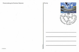 UN Wien - Ganzsache Postkarte Sonderstempel / Postcard Special Cancellation (i565) - Cartas